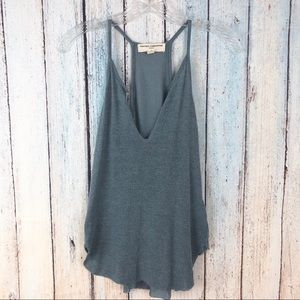 Urban Outfitters Racerback Blue Tank Top XS